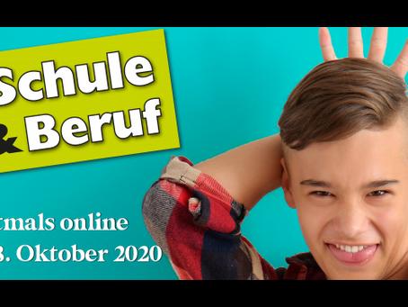 Messe-NEWS: SCHULE & BERUF – erstmals online