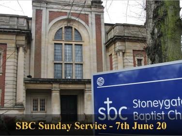 Sunday Service - 7 June 20