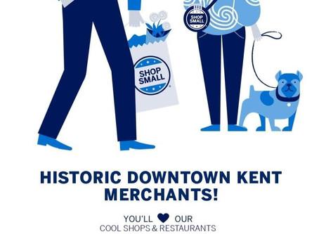 Shop Small Business,  Saturday Nov. 28th  8-9 pm