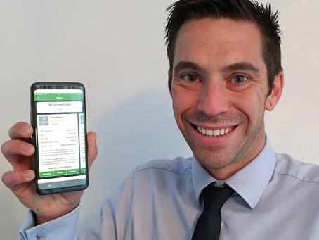 Dragon's Den interest for Leicester man's app