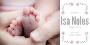 Baby Isa Noles