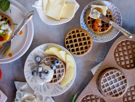 Waffle integrali: la ricetta per farciture dolci e salate
