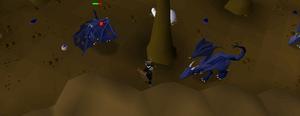 OSRS Blue dragon safespotter [ version 1 ] | Community | Visualrm