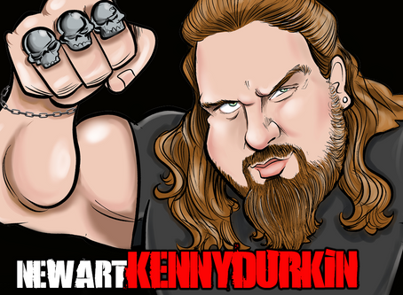 AWESOME New Art by Kenny Durkin