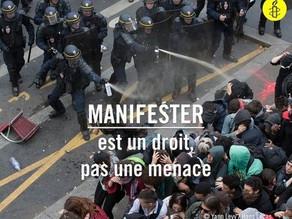 Amnesty International - L'actualité sur la loi anti-casseur