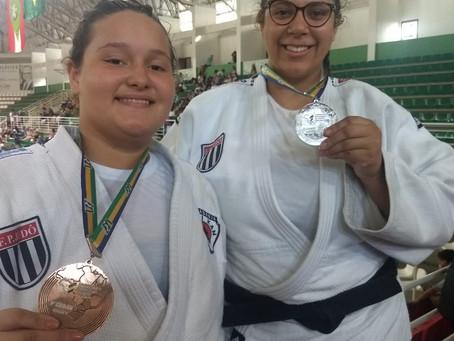Francacas medalham em campeonato Brasileiro de Judo região V em Brusque/SC