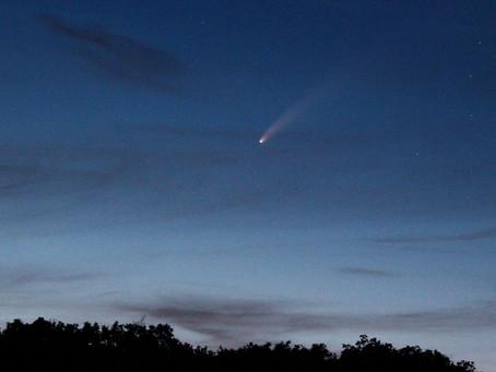 Observation de la comète NEOWISE