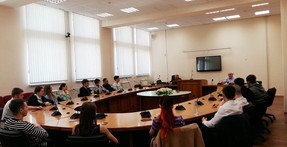 Публичная лекция заместителем директора Первого департамента Азии Владимира Малышева