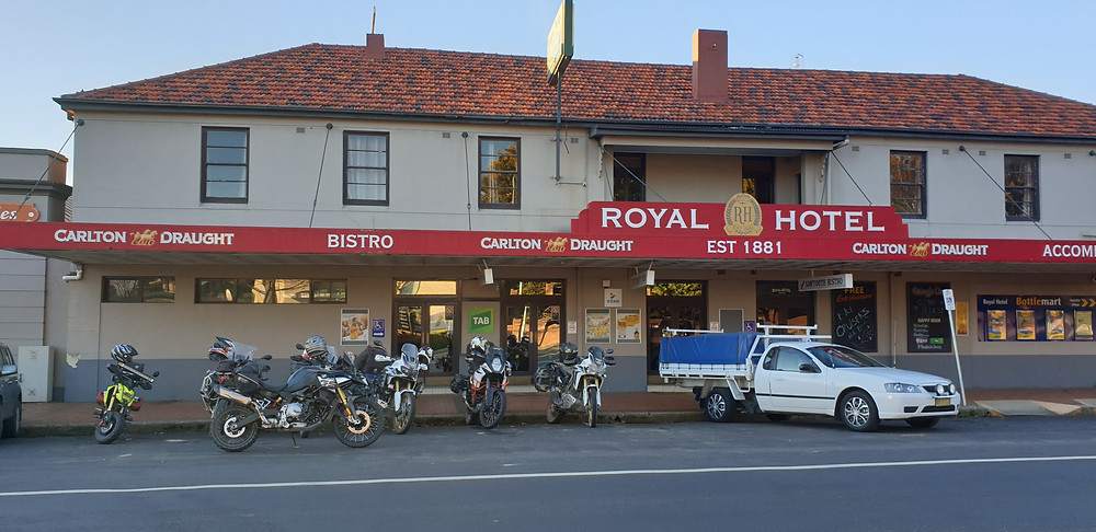 Day 1 finished with dinner and awards at the Royal Hotel, Oberon.
