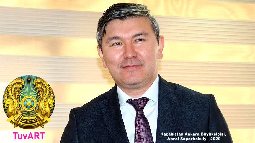 Kazakistan Ankara Büyükelçisi, Abzal Saparbekuly, 2020
