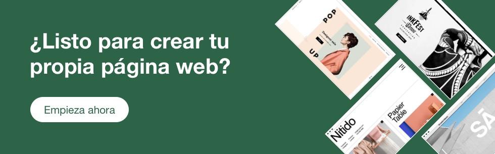 crea tu propia página web