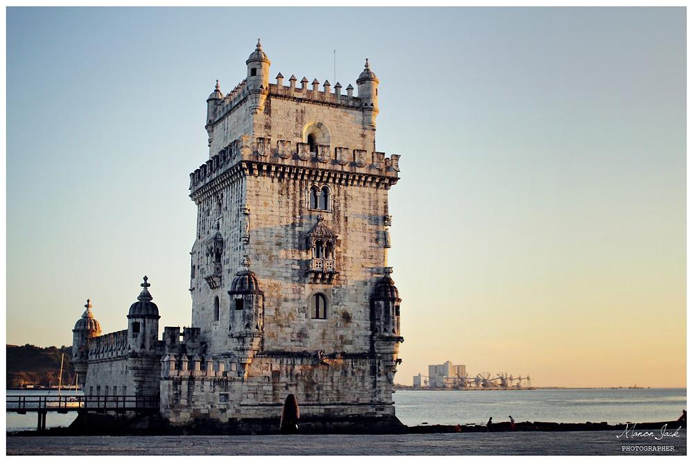 Tour de Belem, monument emblématique de Lisbonne. Patrimoine de l'UNESCO