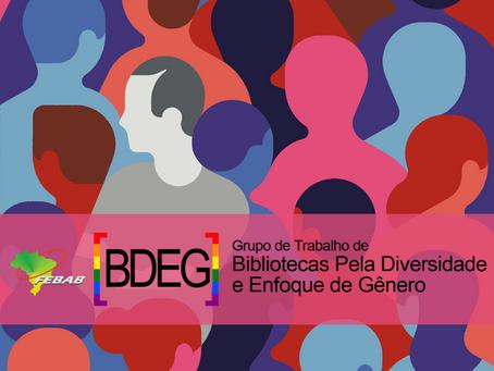Conheça o GT Bibliotecas pela Diversidade e Enfoque de Gênero!