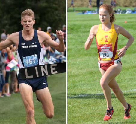 Collegiate Standouts Annie Frisbie of Iowa State,Colin Abert of Penn State, Join Team USA Minnesota