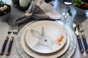 Monte Cristo Sandwiches and Easter Table_PottertonHill.com