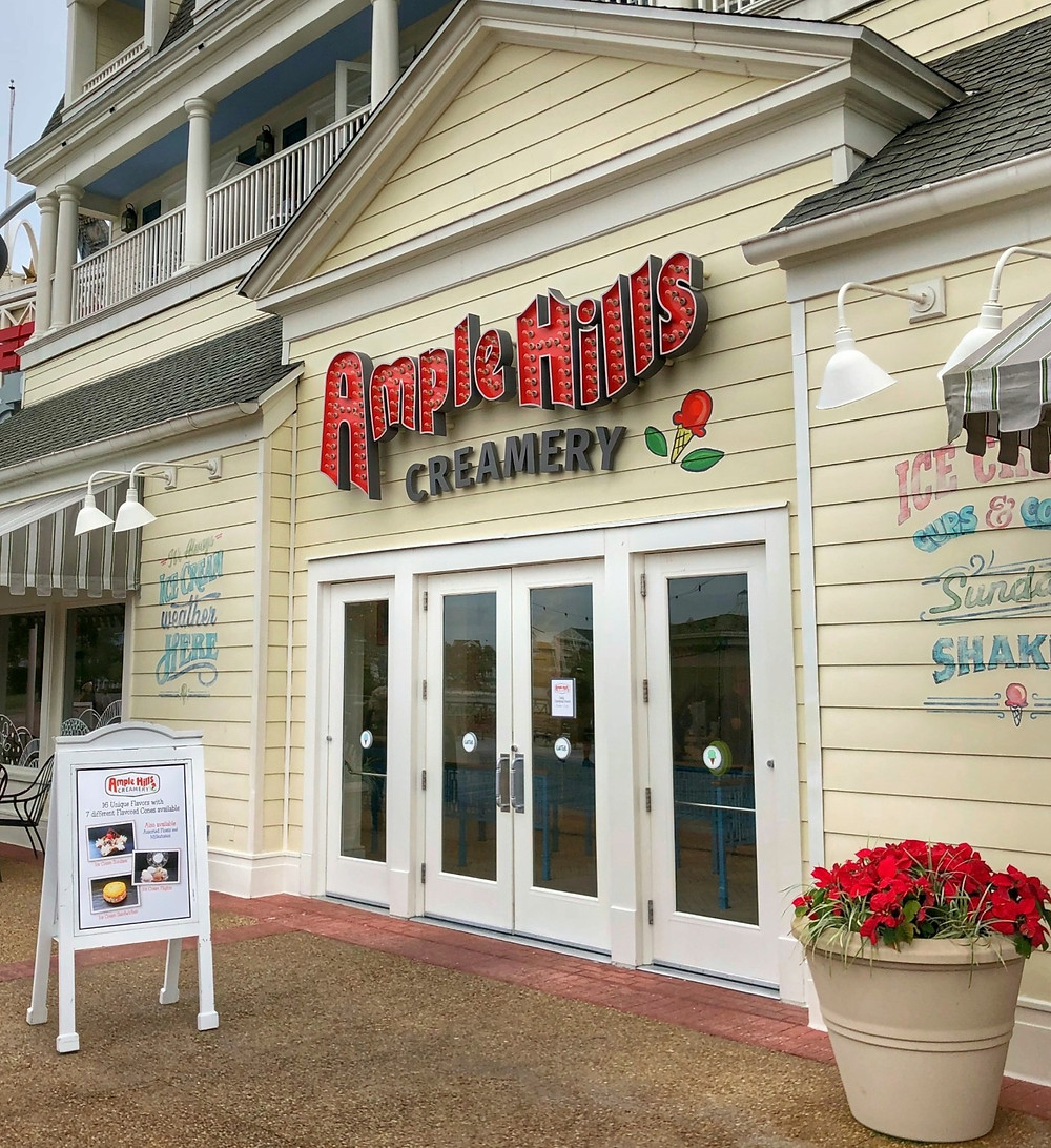 Ample Hills Creamery Will Not Reopen at Disney's Boardwalk or Disney Springs
