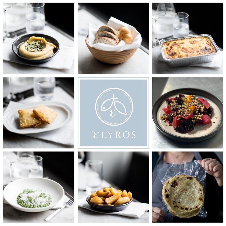 Elyros Restaurant, melbourne, victoria, australia, affluent society