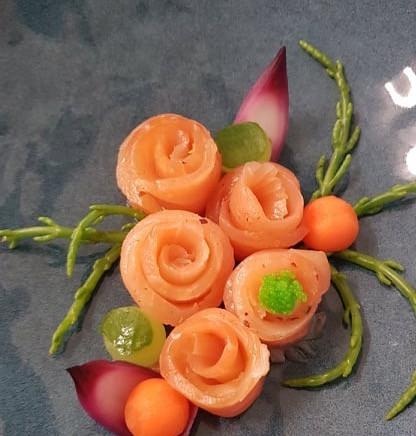 Ricetta donata da: Tenuta Donna Lavinia e Villa Bianchi - Salmone marinato