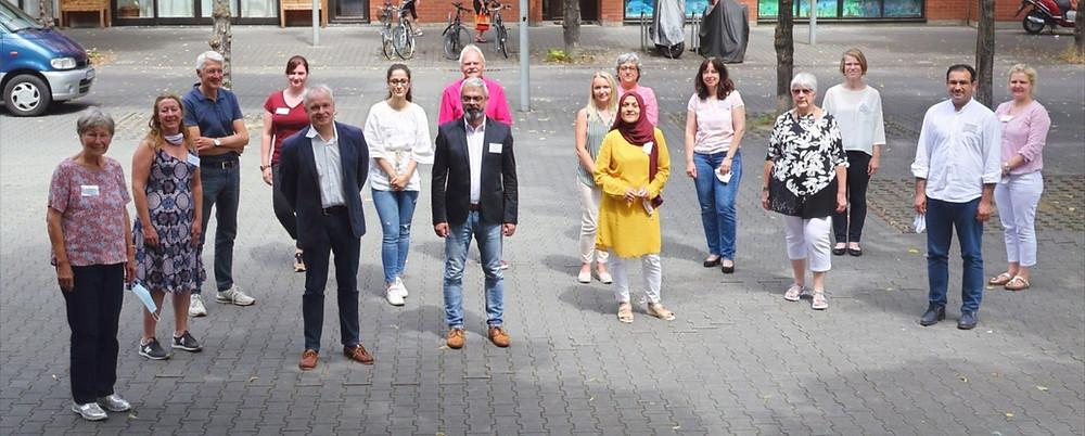Teilnehmende des ersten Treffens der vier Modellregionen Mannheim, Konstanz, Schwäbisch Gmünd und Laubheim