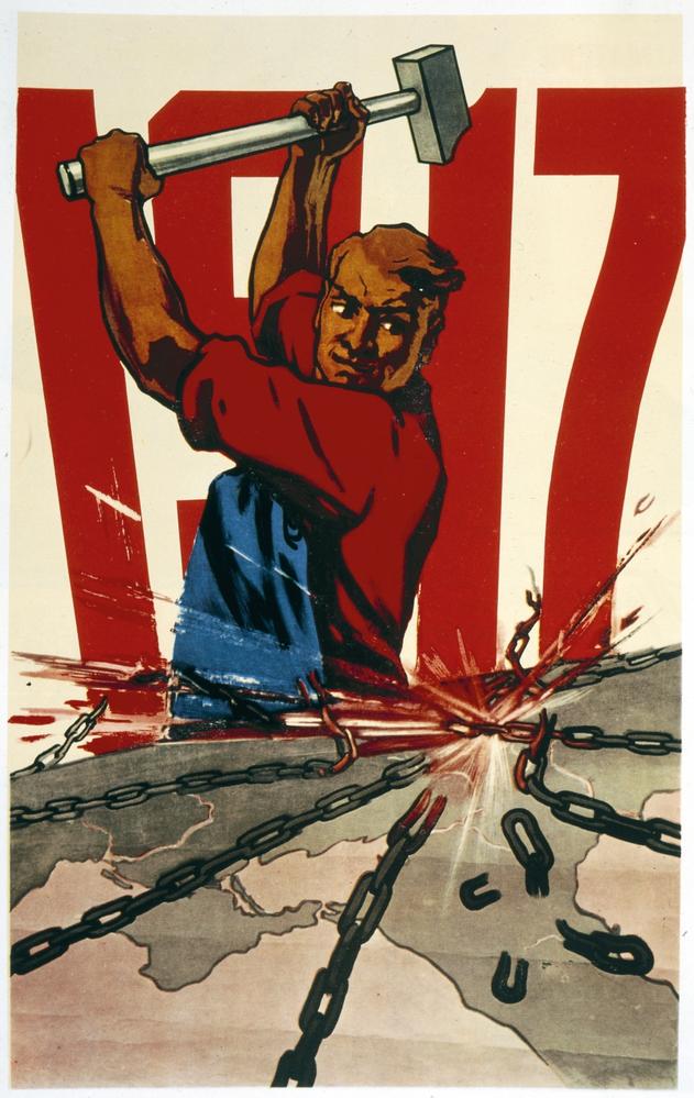 russia revolutions february october