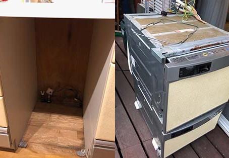 ビルトイン食洗機 パナソニックCWPH-45WS