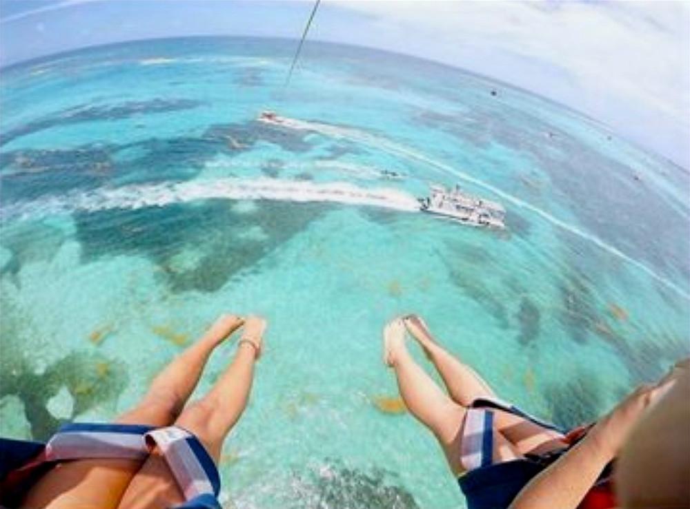 Sobrevoo Punta Cana