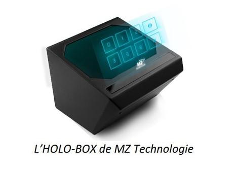 Le clavier holographique ou comment ne plus avoir à toucher les boutons de l'ascenseur