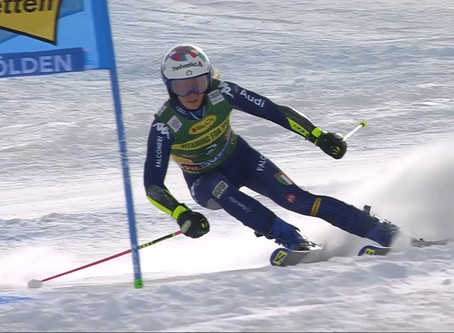 Marta Bassino Wins World Cup Opening GS in Sölden