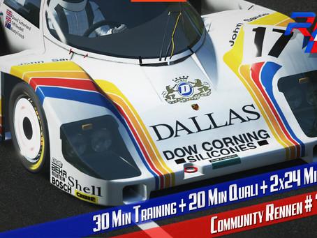rF2-CR 74   24 minute du Mans - GTPC`84 @ Le Mans 2018