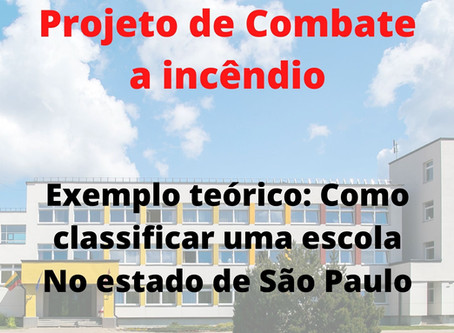 Exemplo teórico: Como classificar uma escola No estado de São Paulo