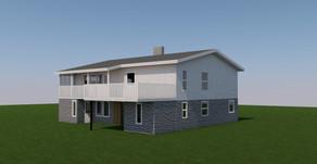 Fasadeendring av bolig
