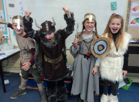 Vikings for the Day in Year 5