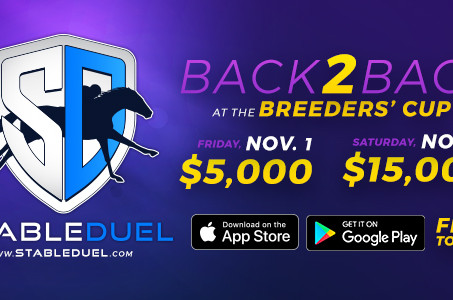 Fantasy Horse Racing App StableDuel Hosts Free $20k Breeders' Cup Game