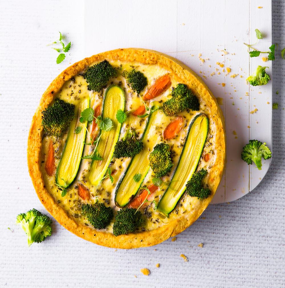 daržovių pyragas, tarta su daržovėmis, Alfo receptas