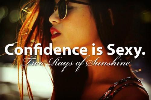 Brunette Confidence
