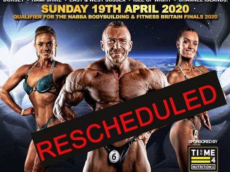 NABBA South 2020 Poster