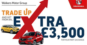 Trade up for an extra £3,500!...