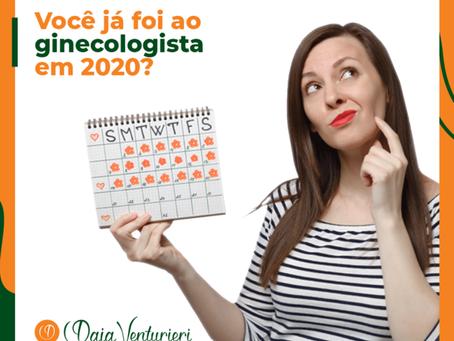 Você já foi ao ginecologista em 2020?