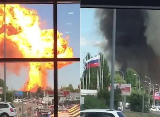 (VIDEO) EXPLOSIÓN EN RUSIA