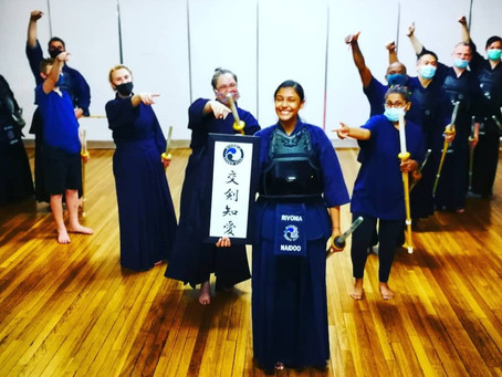 The Youngest Female Shodan Kendoka in South Africa