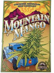 Mountain Mango Poster