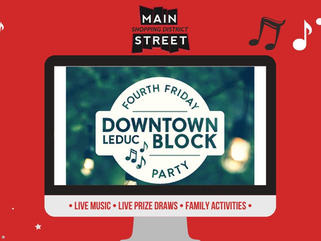 May Fourth Friday Block Party Colouring Sheets