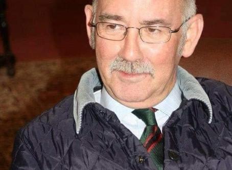 Maj (Retd) Alan Howarth late 2nd Bn The Light Infantry and Rifles County Secretary Yorkshire