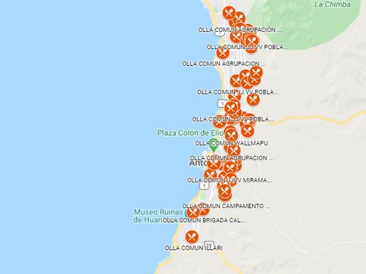 MAPA ONLINE DE OLLAS COMUNES DE ANTOFAGASTA, ENTÉRATE DONDE ESTÁN TODAS