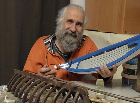 Κώστας Ζωγραφόπουλος : Θεωρώ ανώτερη πνευματική λειτουργία την χειρωναξία