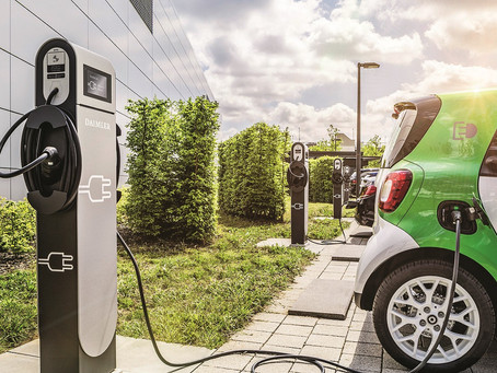 The weekend read: EV charging meets Blockchain