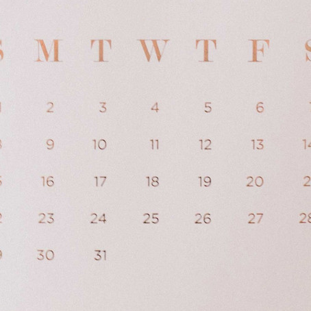 "How to ""fill"" the calendar now"