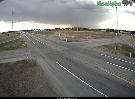 Severe thunderstorm headed for Shoal Lake, MB