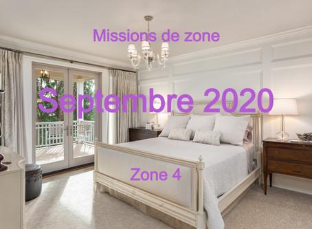 Zones : Missions semaine 39 - Zone 4