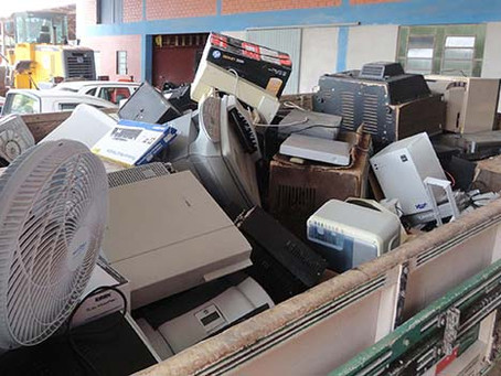 Município inicia campanha de coleta de eletrônicos